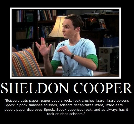 Sheldon Funny Quotes: Polstar's Short Attention Span